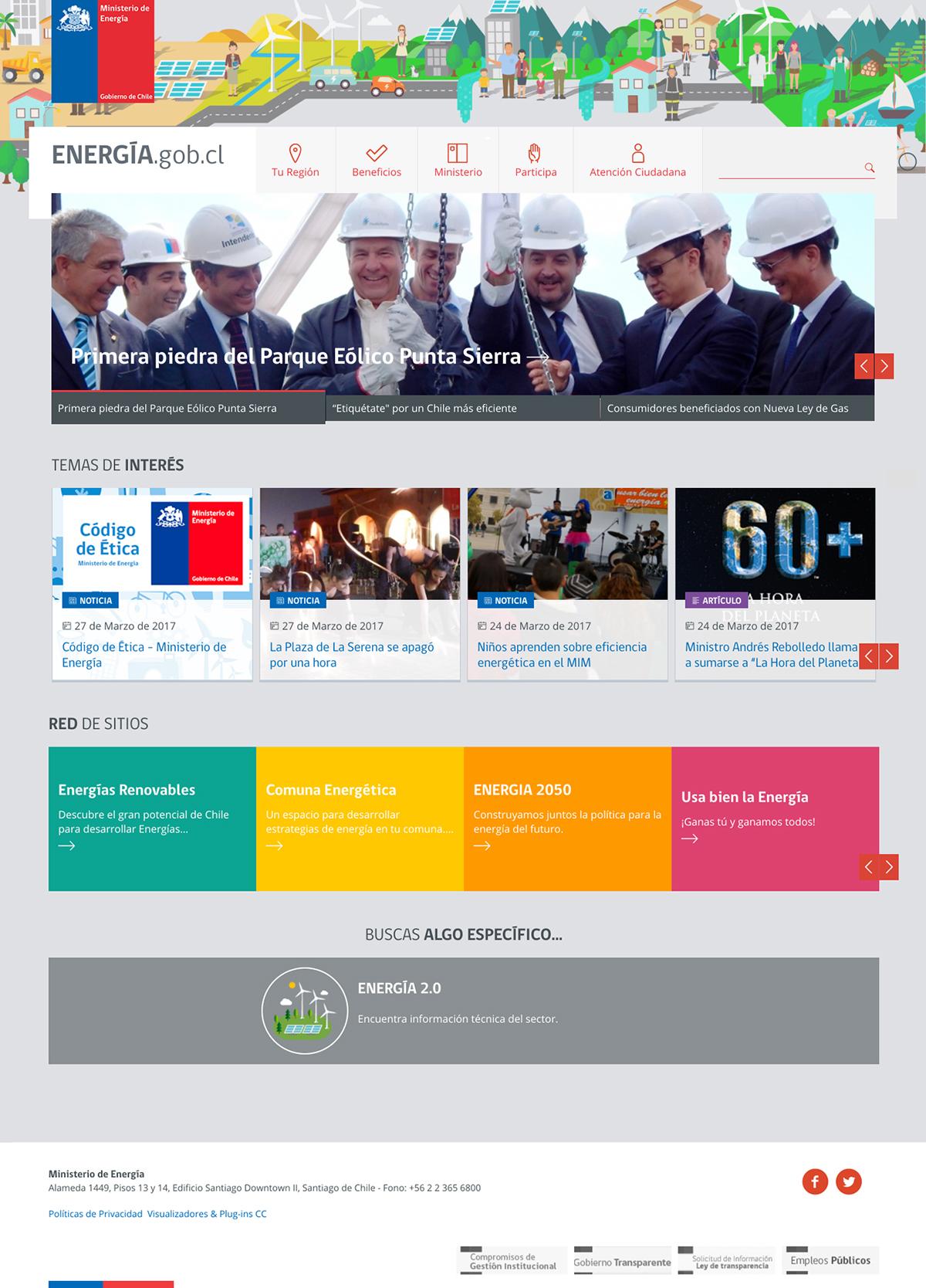 Portal Ministerio de Energía